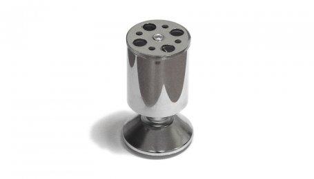 Опора регулируемая, 100х50 мм, хром