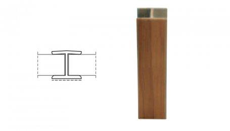 Соединительный элемент  180° для цоколя, бук
