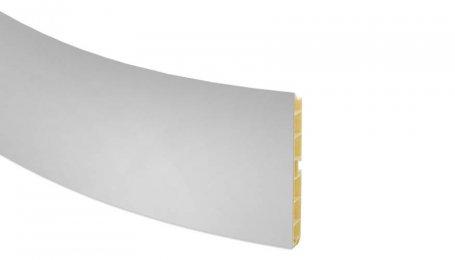 Элемент закругление 100мм для цоколя, алюминий
