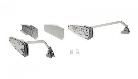 Комплект Подъемный механизм Free Fold, Белый, 770-840 мм/4,9-9,8 кг