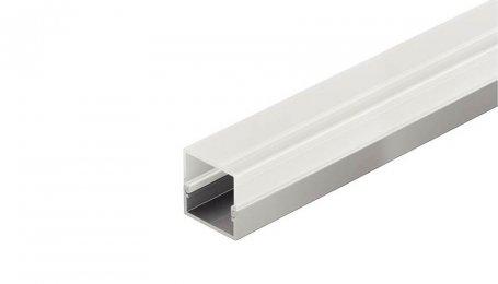 Профиль для светодиодных лент LED, накладной, квадратный