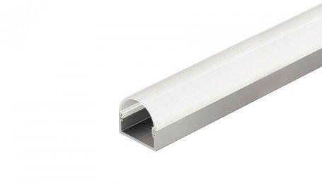 Профиль для светодиодных лент LED, накладной, полукруглый