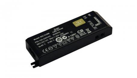 Драйвер LED 12V/30W, без кабеля