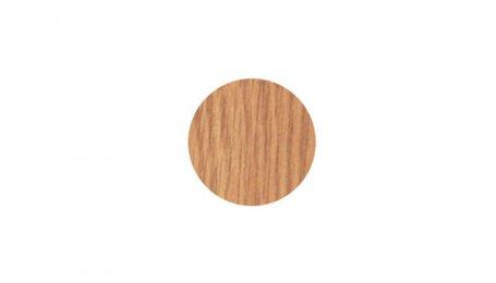 Заглушка-самоклейка, дуб светлый 17 мм