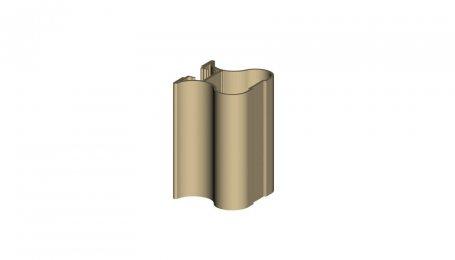 Профиль-ручка симметричный, Шампань, 5.3 м