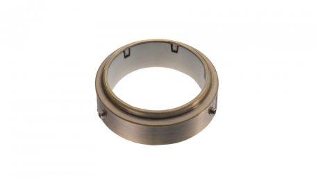 Крепежное кольцо для трубы 50 мм, старая бронза