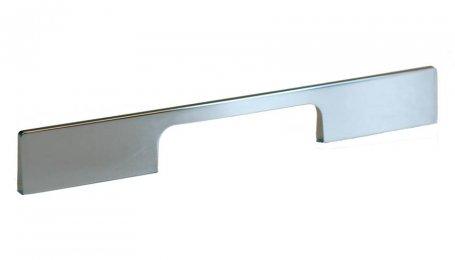 Ручка металлическая, 250 мм, полированный никель