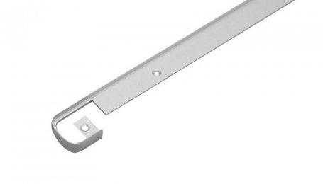 Планка для столешницы соединительная 28 мм, хром