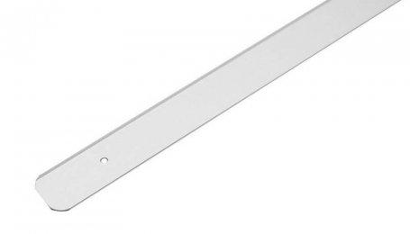 Планка для столешницы торцевая 28 мм, алюминий