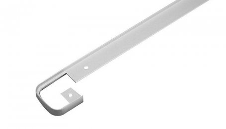 Планка для столешницы соединительная 40 мм, хром