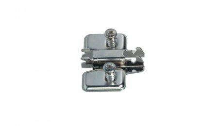 Планка ответная  для петель Nexis ClickOn, с евровинтами, h-0 мм