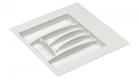 Лоток для столовых приборов, 550 мм, белый