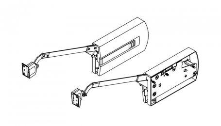 Подъёмник для складных дверей выс. до 750 мм, Kinvaro F-20