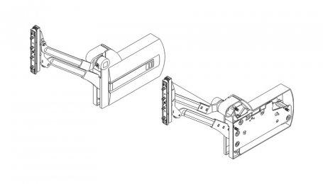 Подъёмник для параллельного подъема дверей выс. до 370 мм, Kinvaro L-80