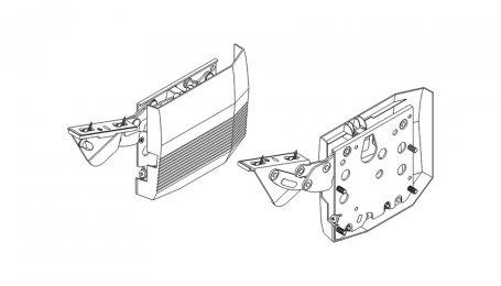 Подъёмник для откидных дверей выс. до 600 мм, Kinvaro T-75