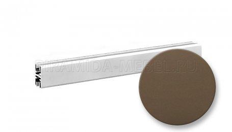 Профиль горизонтальный верхний для алюминиевых систем, 1800 мм, шампань