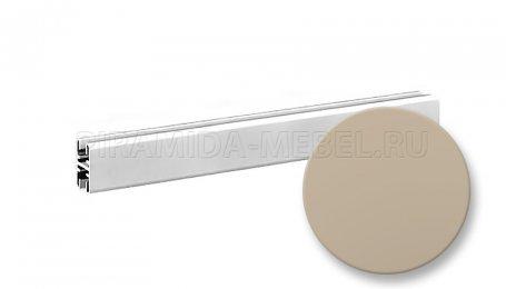 Профиль горизонтальный верхний для алюминиевых систем, 1800 мм, бронза