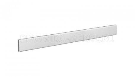 Планка декоративная для алюминиевых систем, 1800 мм, алюминий натуральный