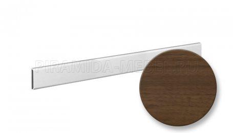 Планка декоративная для алюминиевых систем, 1800 мм, орех