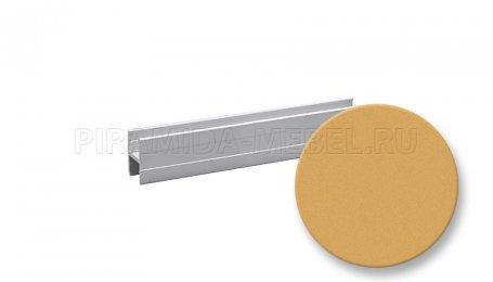 Профиль алюминиевый, соединительный, гнущийся, 3600 мм, золото