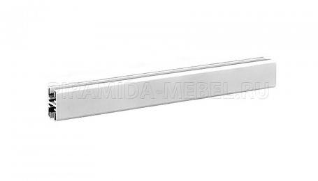 Профиль горизонтальный верхний для алюминиевых систем, 3600 мм, алюминий натуральный
