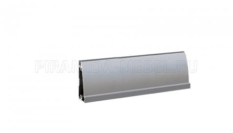 Профиль Опал 4x2750 мм ОП-13 с захватом, алюминий натуральный