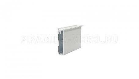 Профиль Опал 4x2750 мм ОП-14 с захватом, алюминий натуральный