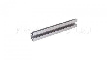 Профиль соединительный к ручке для двойных дверей односторонний, 2750 мм