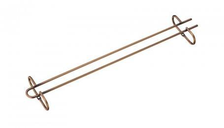 Держатель бокалов 420 мм, бронза