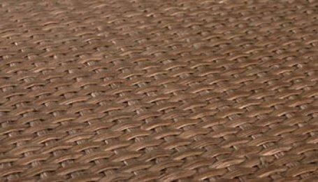 Плита с ротанговым покрытием №7 Дуб