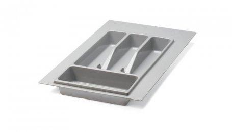 Лоток для столовых приборов 350 мм, серый