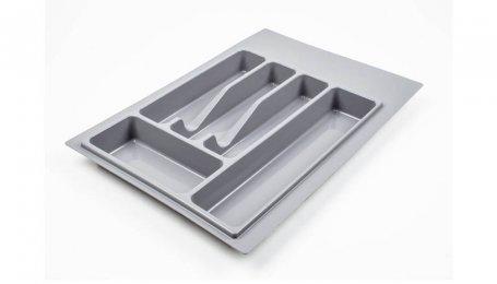 Лоток для столовых приборов 400 мм, серый