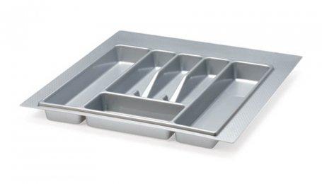 Лоток для столовых приборов 500 мм, серый