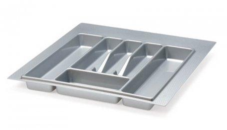 Лоток для столовых приборов 600 мм, серый