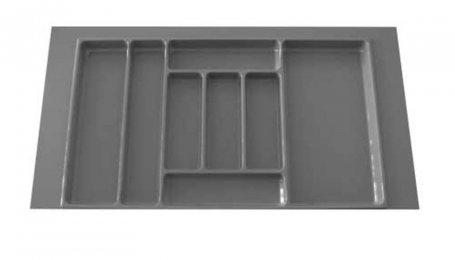 Лоток для столовых приборов 900 мм, серый