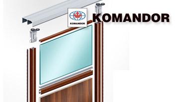 Системы для шкафов-купе Komandor